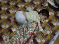 明賢最新睡覺姿勢。