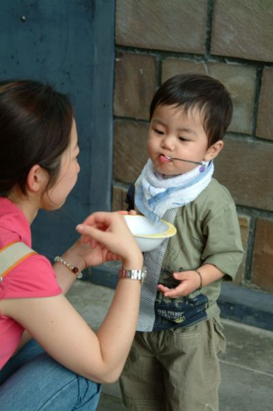 在仙佛寺吃午餐